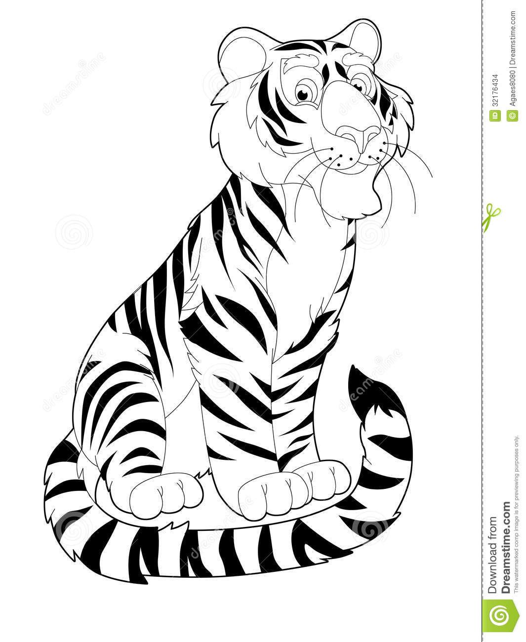jungle safari coloring pages - Safari Animals Coloring Pages