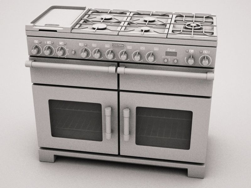 Today S Cg Space Giveaway Free 3d Model Rangemaster Cooker Ideal For High Detailed Photoreal Arch Viz Http Www