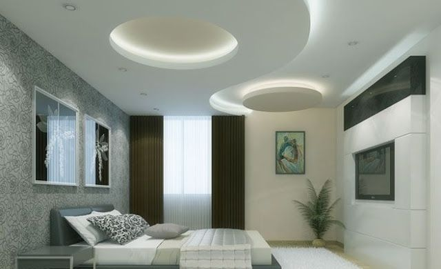 room modern pop false ceiling - False Ceiling Design For Bedroom