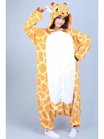 66fbcb2bf Giraffe Kigurumi Onesie