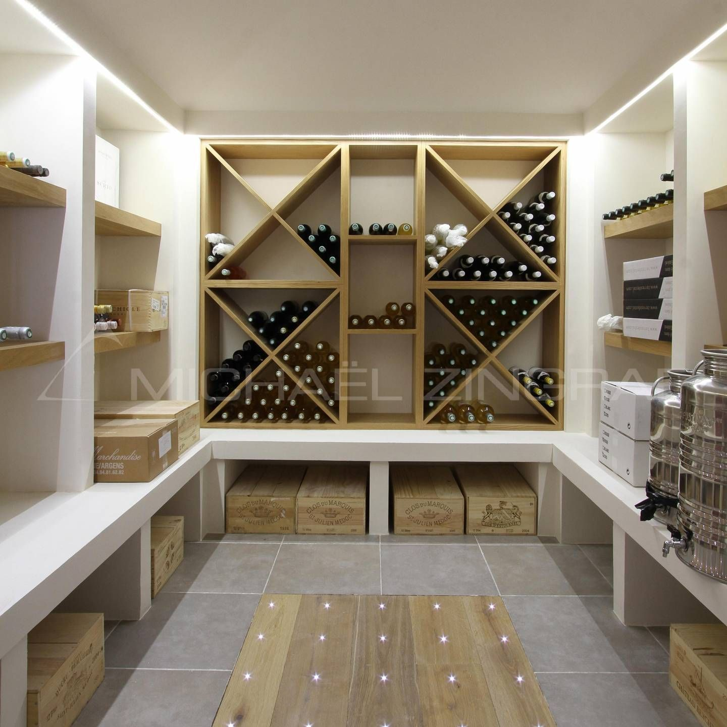Loving This Custom #display Area For Wine...perfect For