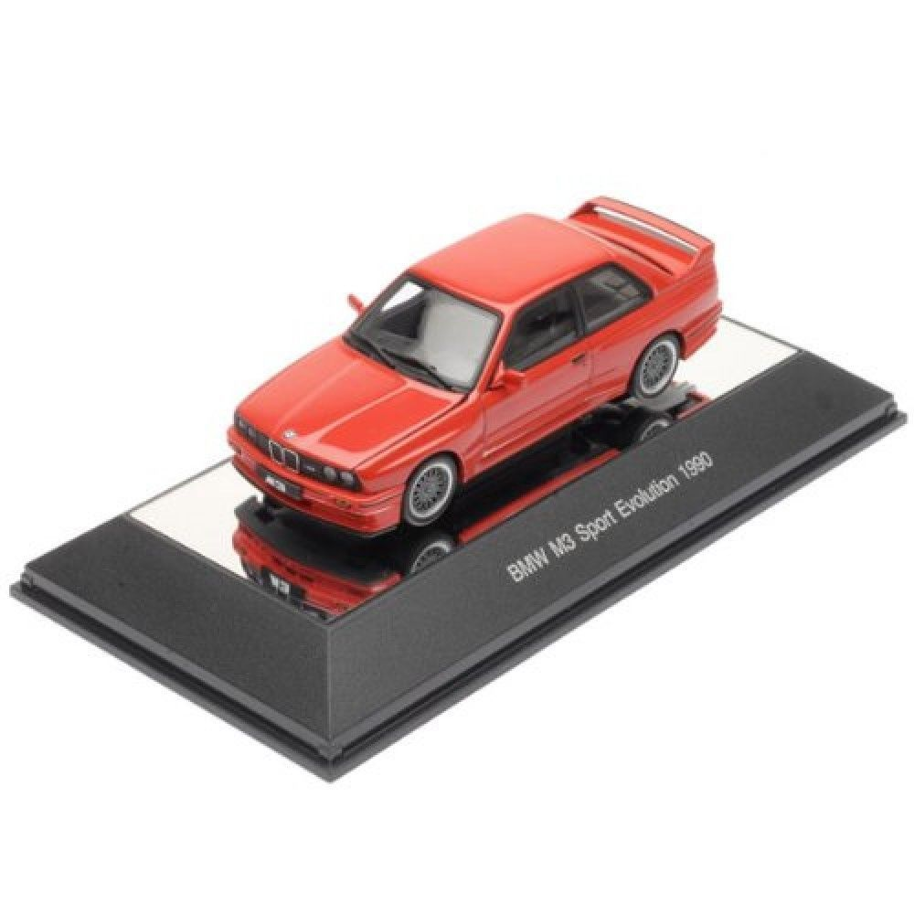 AUTOart BMW M3 SPORT EVOLUTION 1990 RED 1/43 Scale Model