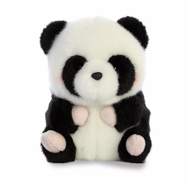 Rolly Pet - Precious Panda 5in Premium High Quality Plush | Teddy Plush Toys, LLC