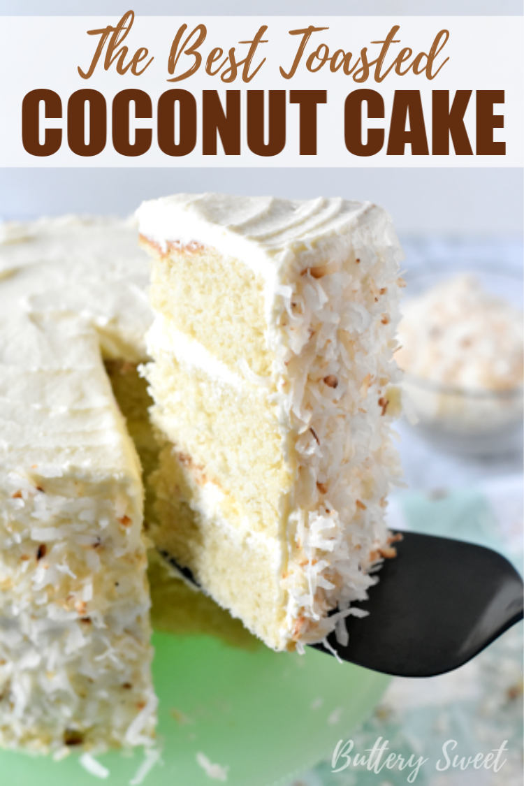 This is the Best Toasted Coconut Cake youll ever make The toasted coconut on the outside is the special touch that makes this easy and quick cake extra delicious and pret...