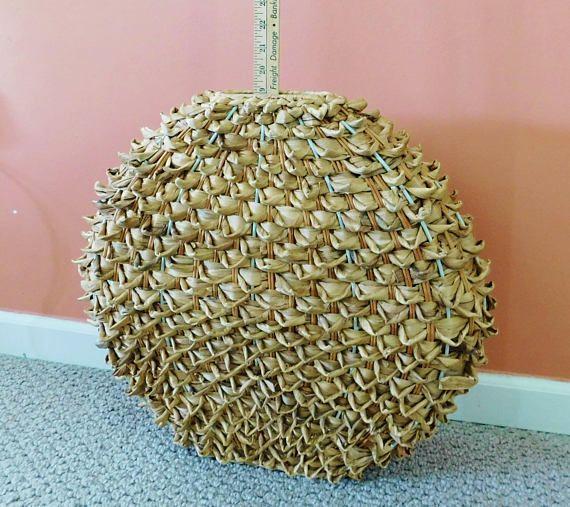 Basket Unique Floor Decor Basket Large Circular Basket Hand