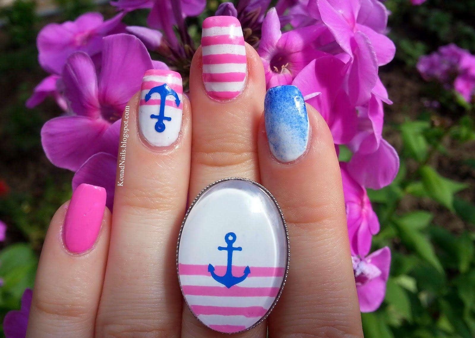 Trind Keratin Treatment   navy nail art