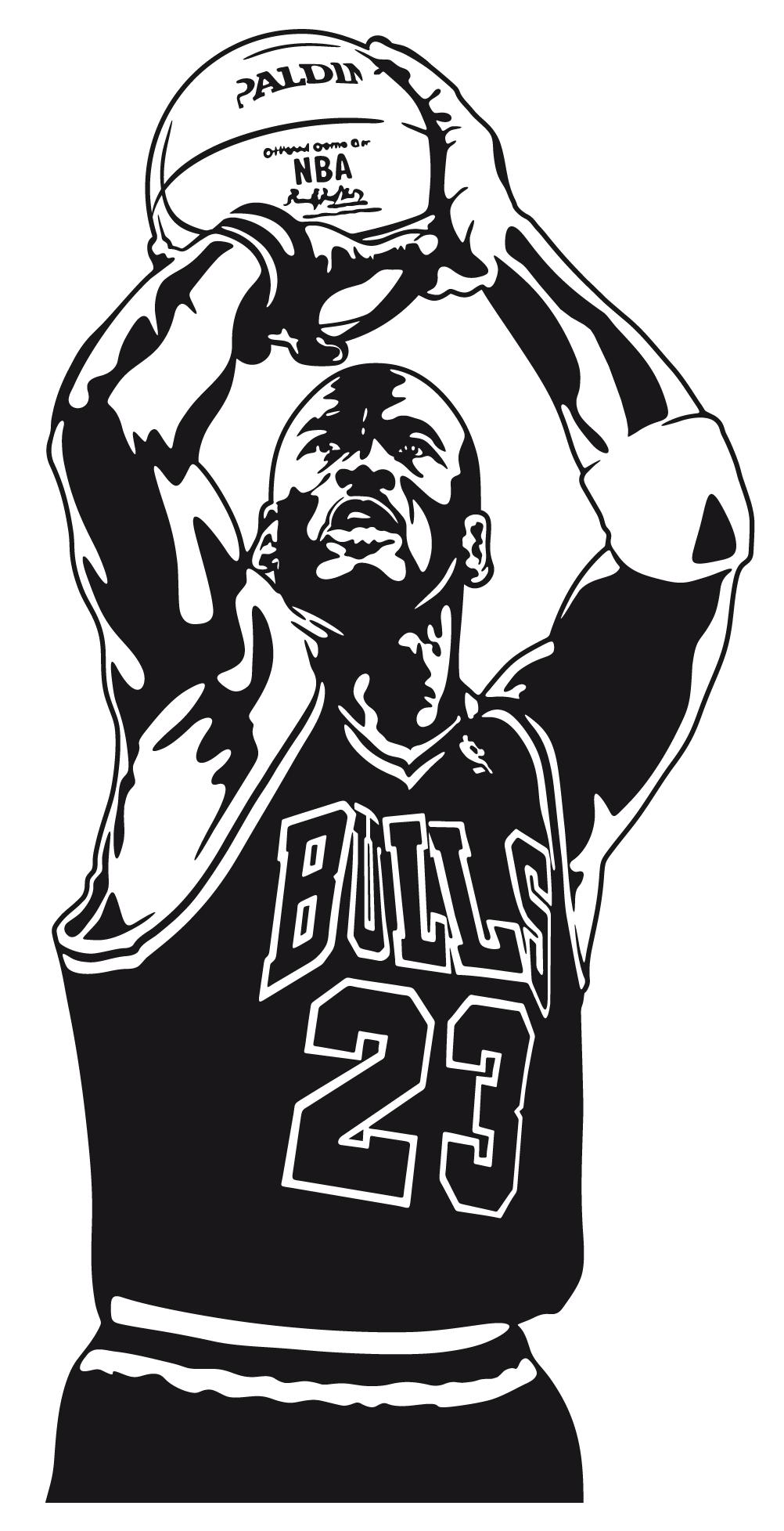Michael Jordan Michael Jordan Vinilos Decorativos Vinilo Decorativo Michael Jordan Teleadhesivo Bas Michael Jordan Art Ball Drawing Basketball Drawings
