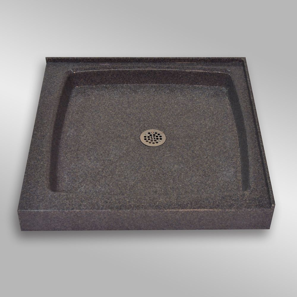 Double Threshold Shower Base Pg901 Mystique 36 X 36 Inches
