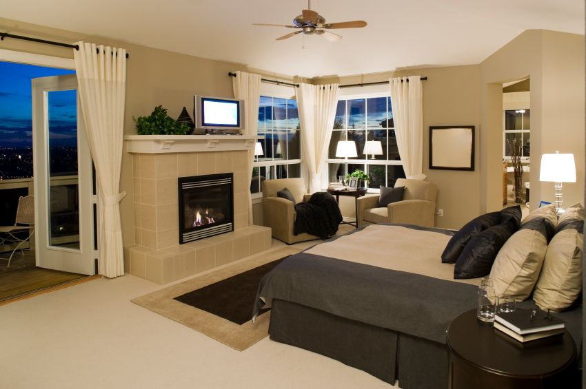 101 Master Bedrooms With Fireplaces Photos Master