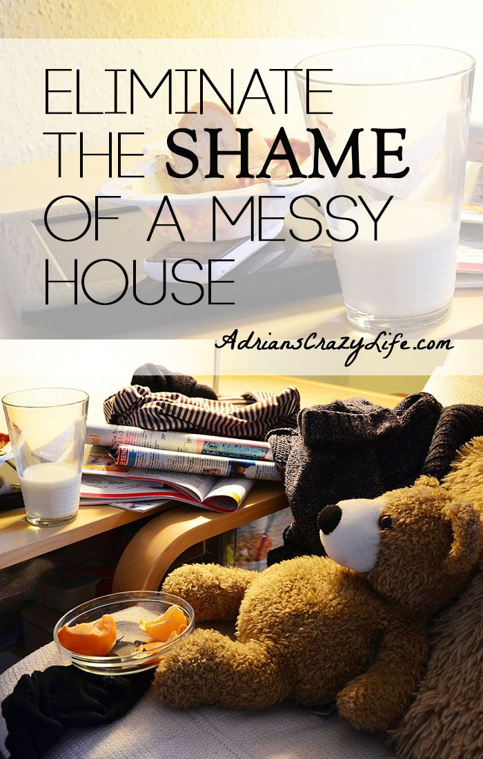 Eliminate The Shame Of A Messy House Adrianscrazylif Why Do Women Play With Each Other About State Our Houses Just Stop It