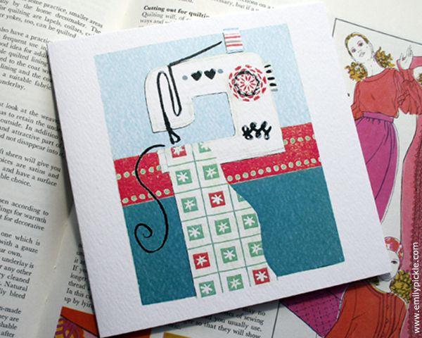 greeting card machine