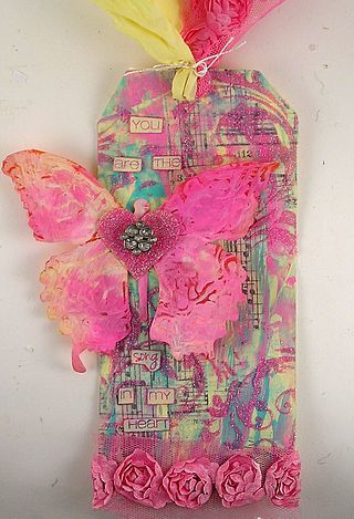 Butterfly tag