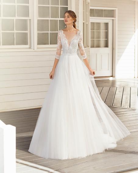 Pin By La Belle Mariee Bridal On Rosa Clara Wedding Dress Sleeves Rosa Clara Wedding Dresses Wedding Dresses
