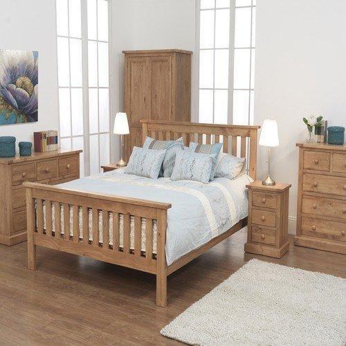 Devon Kingsize Pine Bed   Ideas for the House   Pinterest