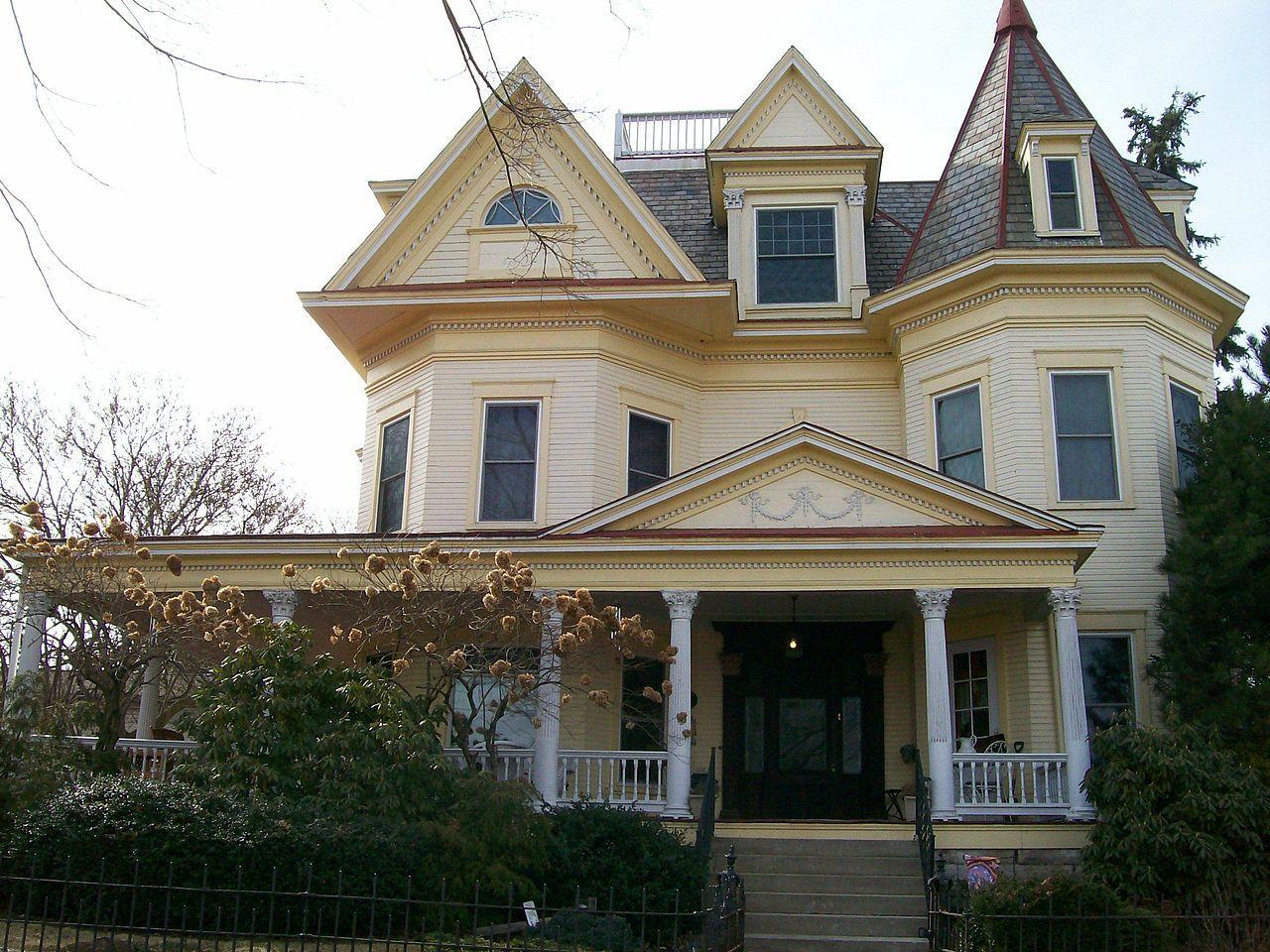 John Kaiser House in Washington County, Ohio. Washington