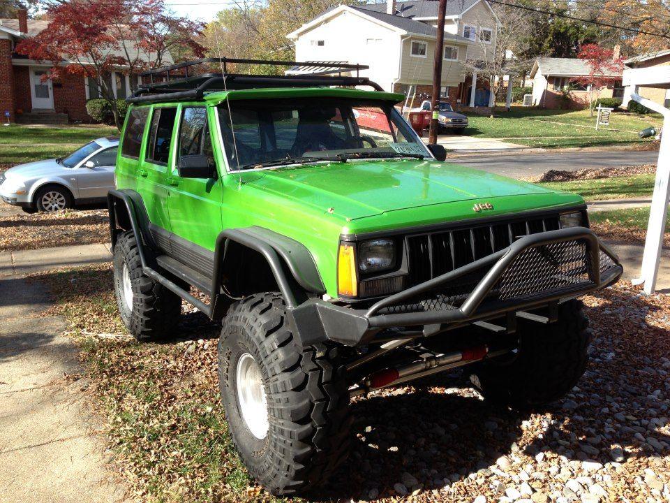 Flat Fenderflares W Exo Skeleton Jeep Xj Jeep Cherokee Xj