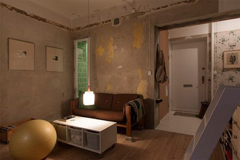 apartment inside poor. Karin Matz Leaves Unfinished Plaster Walls In Stockholm Apartment  apartment inside poor poorwonderful a on decor