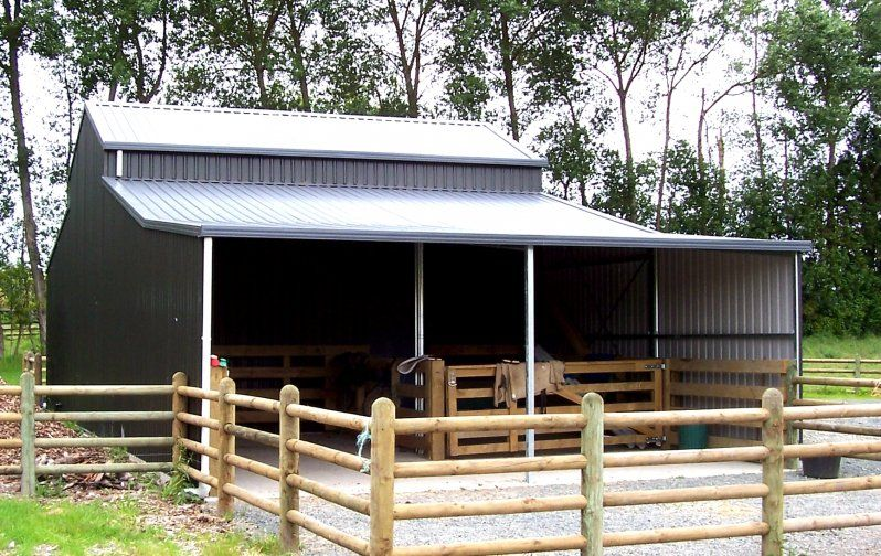 Total span barn nz Farm shed, Shed, Stables