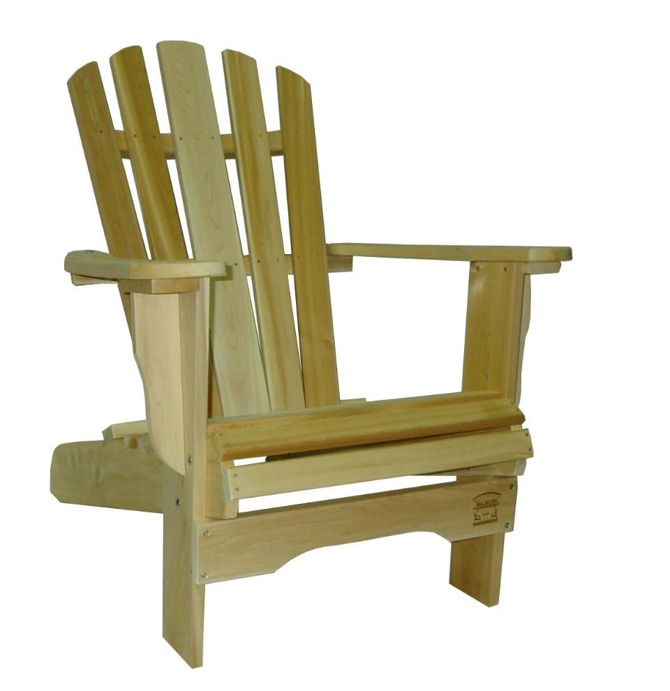 Coussin Pour Fauteuil Adirondack emblême absolu du style adirondack : le fauteuil avec larges