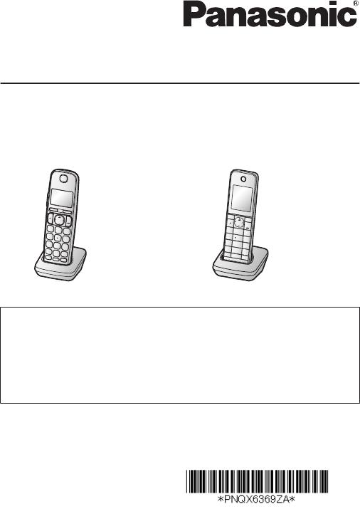 panasonic kx tgea20 user manual