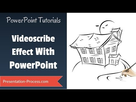 how to create videoscribe effect in powerpoint practical animation