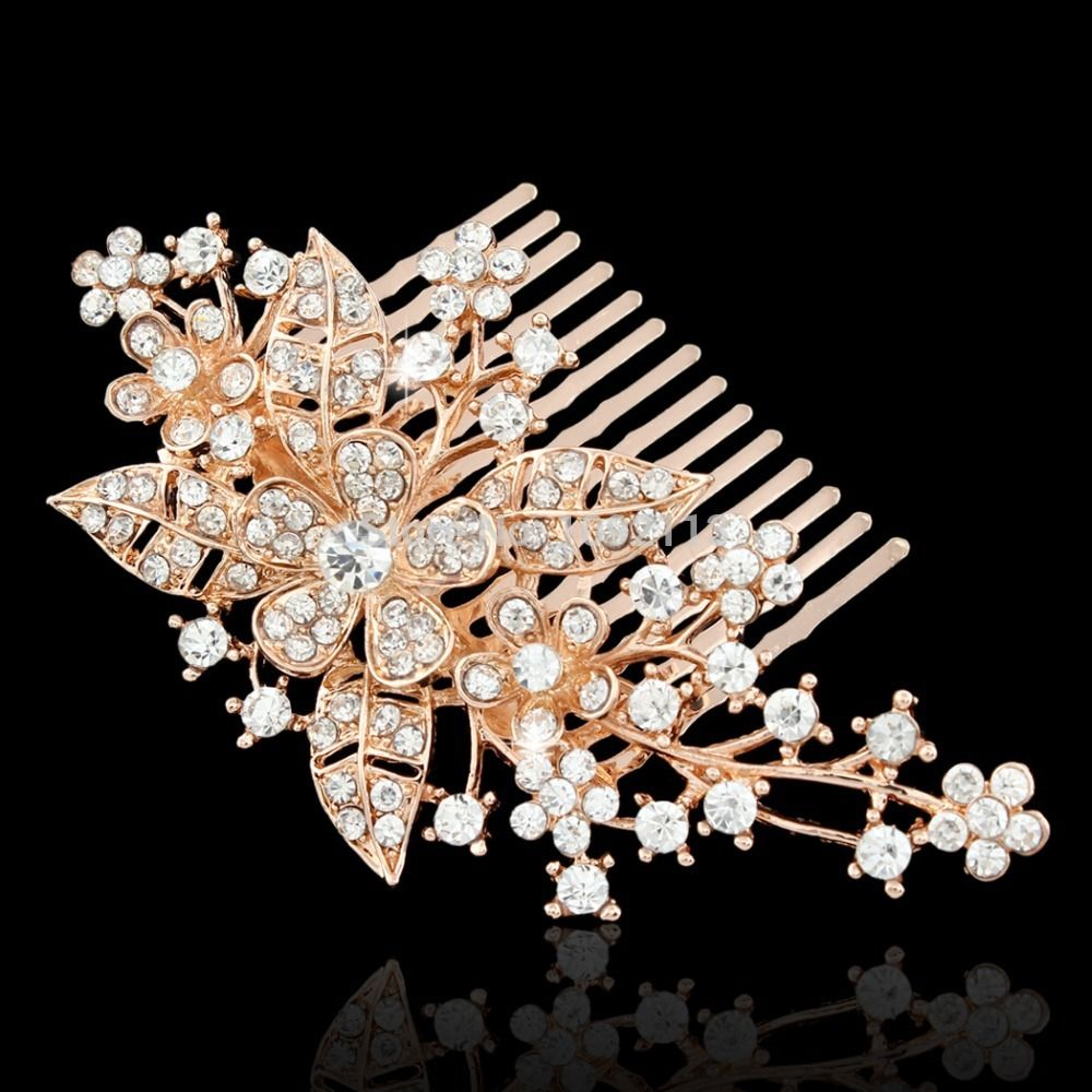 Bridal hair combs are more than just a decorative accessory