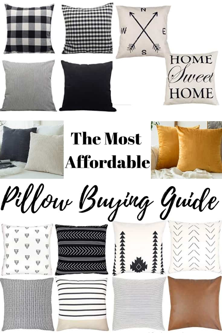 Affordable Pillow Buying Guide for