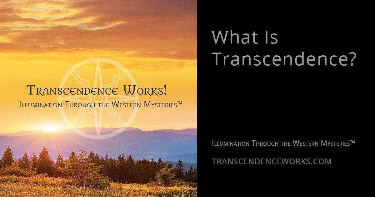 What is Transcendence?
