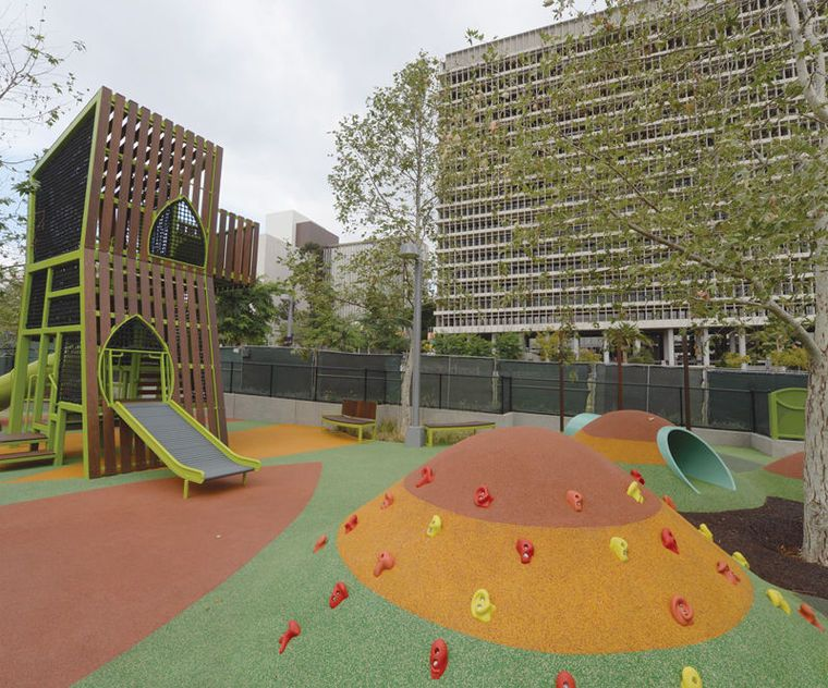 Grand Parks 1 Million Kids Playground Open