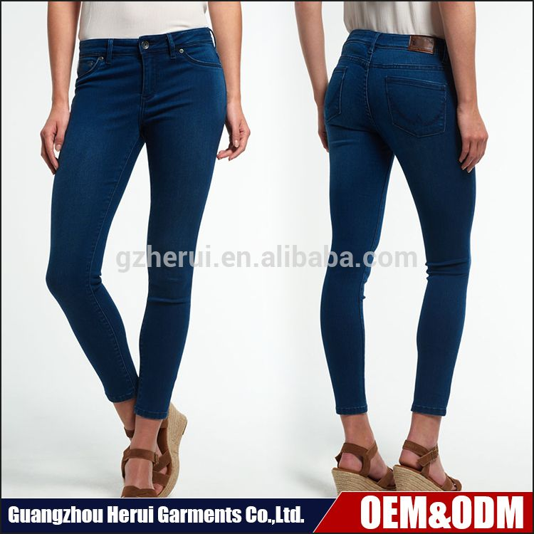 00ea04513f2 Fashion Ladies jeans Top Design Guangzhou Jeans Pants Wholesale China High  Waist Skinny Women Jeans Tousers