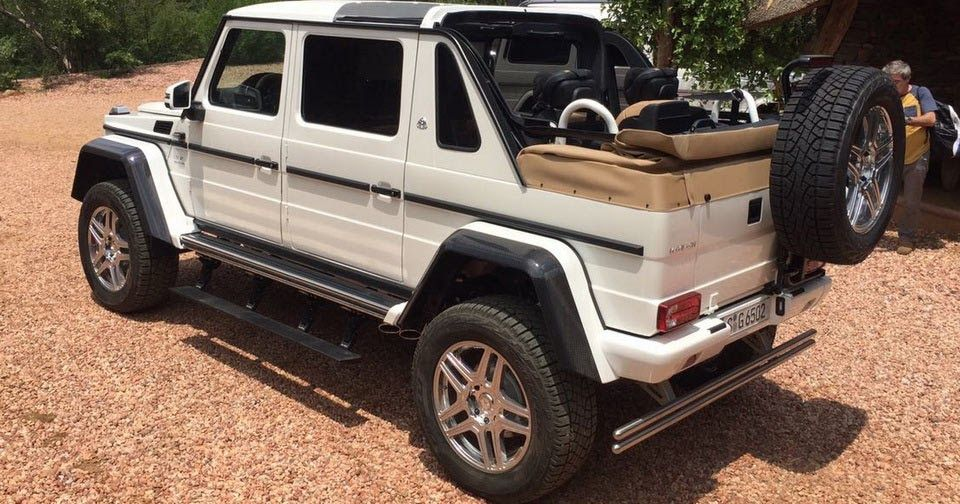 New Mercedes Maybach G650 Landaulet Appears Before We Were Supposed To See It Carscoops Mercedes Maybach Maybach Mercedes G Wagon