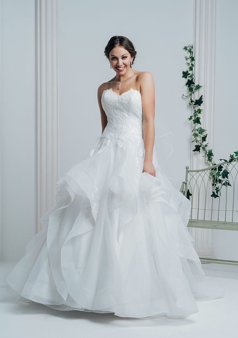 White Rose Wedding Dress R988 | Wedding Dresses | Pinterest ...