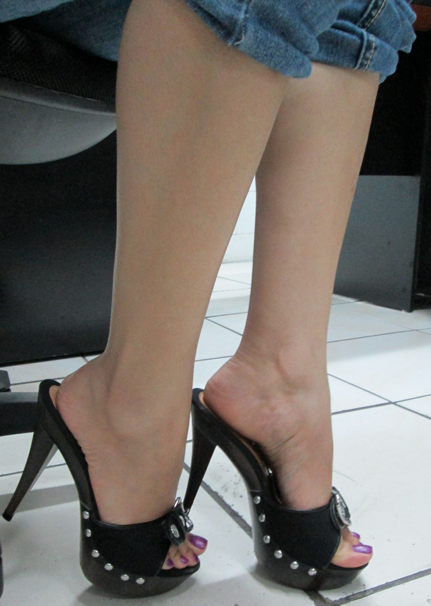 Mul104 High Heel Clogs And Gorgeous Heels