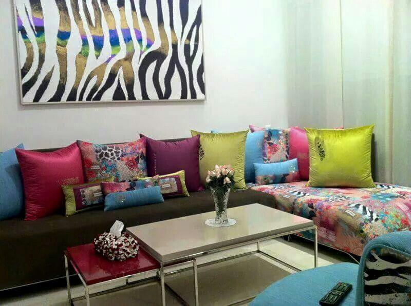 Pin de imane laalj en salon marocain pinterest salones for Cortinas marroquies