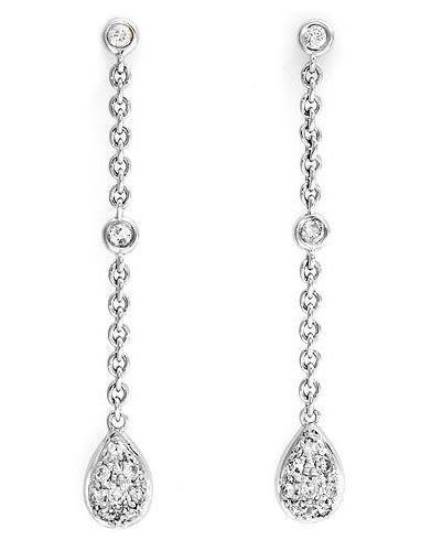diamond stud earring jackets that dangle - Google Search ...