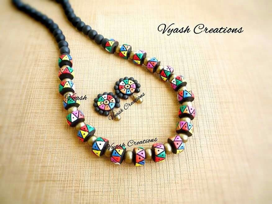 Pin by Mrudula Vellapalem on Terracota Jewellery Ideas