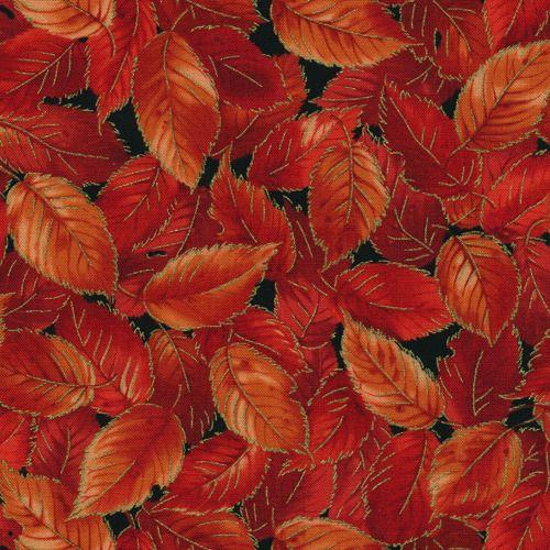 Fabriquilt 425: Fall Spectacular Elm Leaves - Burgundy #112-22104 ... : fall quilt fabric - Adamdwight.com