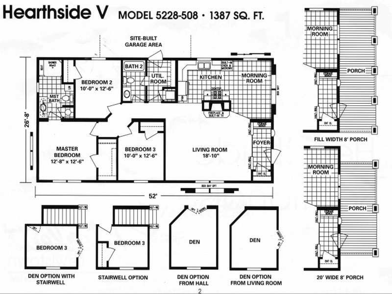 14×70 Mobile Home Floor Plan 24 x 48 homes floor plans - google search | small house plans