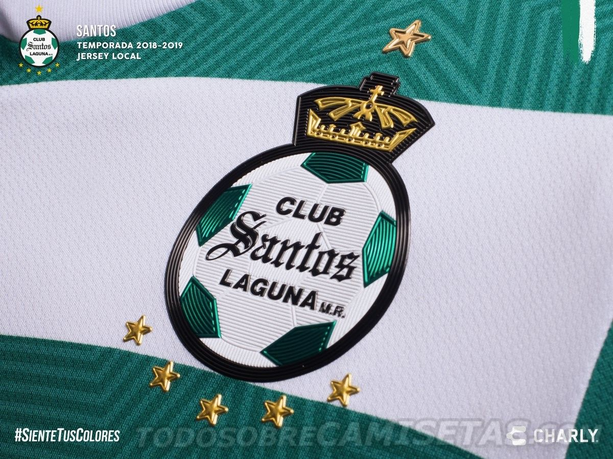 68ab3dd8e Jerseys Charly Futbol de Santos Laguna 2018-19