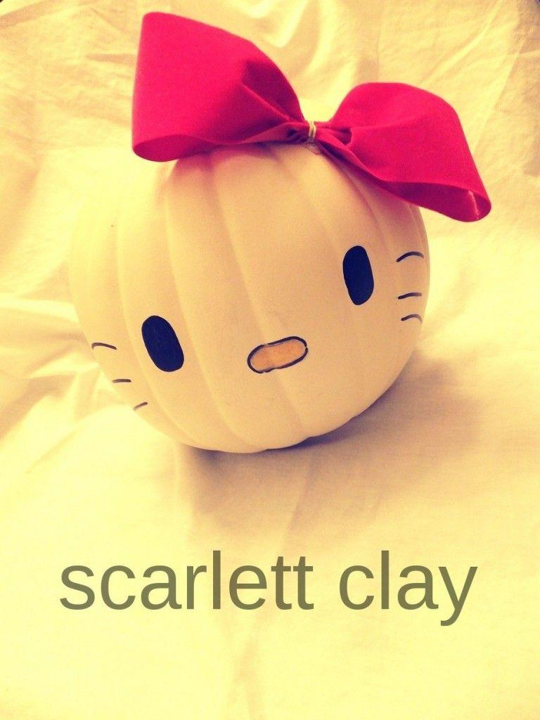Hello Kitty pumpkin :) | In Autumn | Pinterest | Hello kitty ...