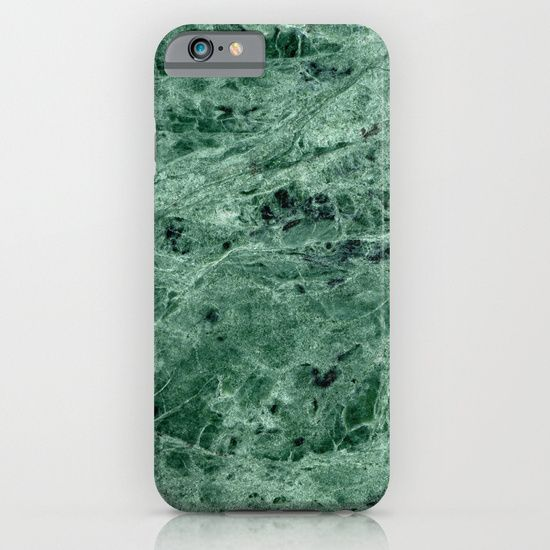 Green Marble Print iPhone & iPod Case