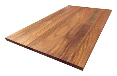 African Mahogany Wide Plank Countertop