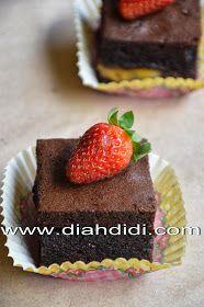 Diah Didi S Kitchen Butter Cake Coklat Pisang Kue Mentega Kue Pisang Makanan