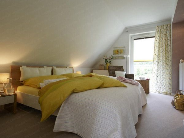 low slanted ceiling bedroom found on cultureofstylecom