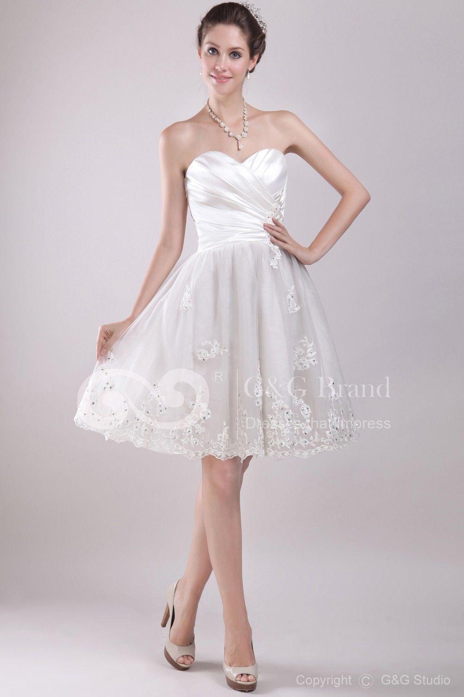 Short Corset Wedding Dresses Unwedding Wedding Pinterest