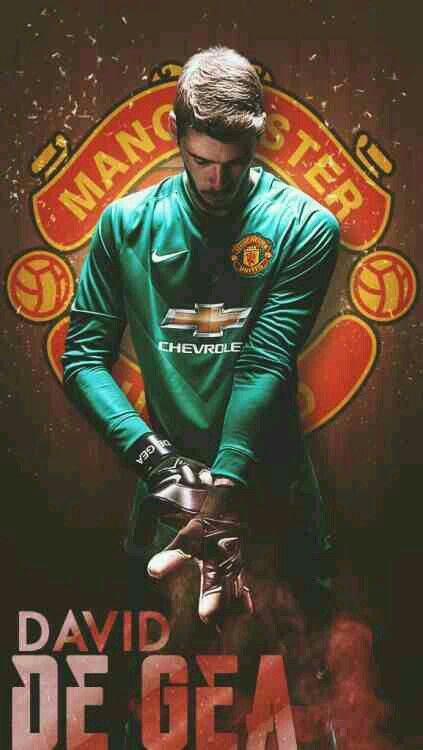 David De Gea Of Man Utd Wallpaper Penjaga Gawang Gambar Sepak Bola Pemain Sepak Bola