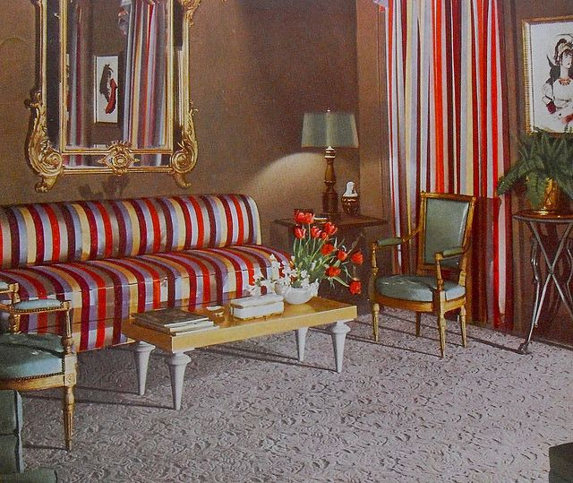 1948 Interior Decorating Book Living Room Photo Haus Deko Retro