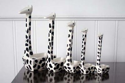 Giraffe Measuring Spoons!...MUST GET