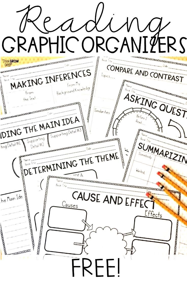 Bring these free graphic organizers into your classroom to offer your students consistent support w