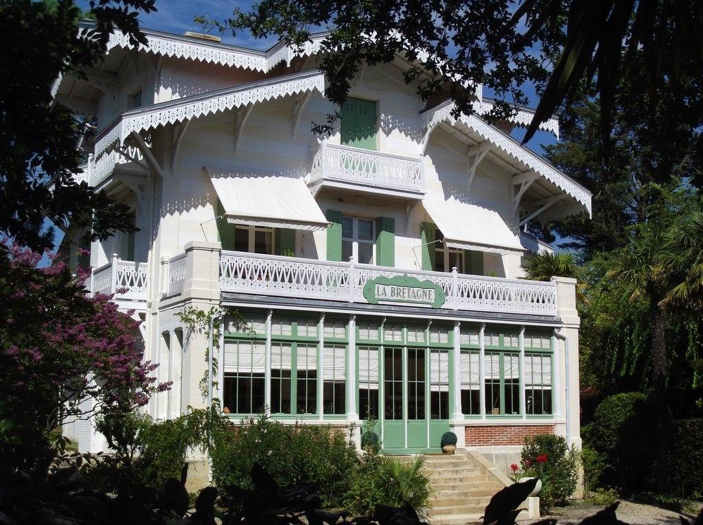 Villa La Bretagne dans la Ville d'Hiver - Arcachon